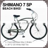 High quality chopper bicycle beach cruiser bike fat tire bikes/carbon steel fat bikeKB-BC-M160009