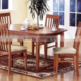 hot sell in alibaba made in china cheap high qunlity folding solid wood dining room furniture table and chair