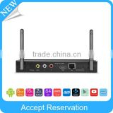 2016 Newest Smart TV Receiver support Dual band WiFi and Dual Antenna Android Hiptv Set Top Box