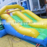 Crayon Inflatable bouncer, inflatable bouncy slide, inflatable crayon bouncy castle for kids