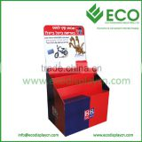 High Quality Cardboard Books Dump Bins, Comic Book Display Rack, Cardboard Book Display Stands