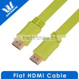 (In-Wall Installation) Flat High Speed HDMI Cable with Ethernet 35 Feet - 3D and 4K Resolution Ready