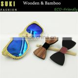 2016 100% Handmade Custom Silk Tie New Bow Ties Wooden Ties