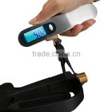 Germnay Direct Shipment Travel Supplies Portable Digital Luggage Scale 110lb Capacity Blue Backlight