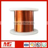 200 Class Polyamide-imide Double Coated Ultra Fine Self-Bonding Rectangular Enameled Copper Wire For Air Condition