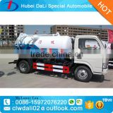 1000-4000 gallon sewage suction tanker truck, sewage vacuum truck, small tanker for sale