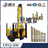 200m DTH rig!!drilling machines manufacturer! DFQ-200 Down hole Multifunction Drilling rig
