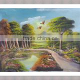 Beautiful scenery wall painting / natural scenery wall picture / natural scenery art painting
