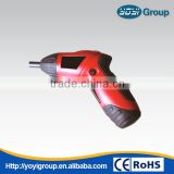 4.8v foldable cordless drill electric screwdriver with power indicator and reverse switch