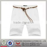 Blank White Color Wholesales Mens Board Short L Size