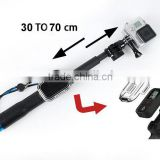 Go Pro monopod Handheld Monopod With WIFI Remote Housing And Tripod Mount Adapter For Gopro Hero 4 3+/3/2