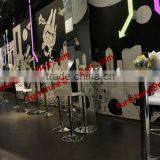 Commercial Acrylic Barstool Chairs for party wedding bar use
