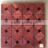 red mosaic wall tile/colorful mosaic tiles pattern for wall