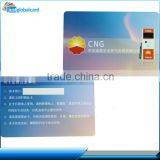 China top wholesale dual interface smart card/ic card for gas station