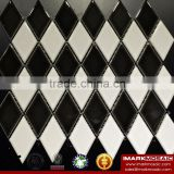 IMARK Mixed White And Black Color Ceramic Mosaic Tile/Premium Mosaic Tile/Kitchen New Design Wall Tile