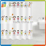Polyester Kids Shower Curtain