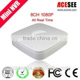 ACESEE DVR H264 CMS Free Software POE 8CH Mini NVR
