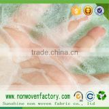 Raw materials for sanitary napkins hydrophobic fabric material for manufacturing baby diaper