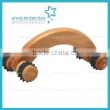 wholesale 4 balls Wooden Massager