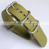 Double Layers Ballistic Nylon Canvas Watch Strap