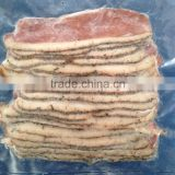 Frozen Cooking Smoked / Roasted / Steamed Duck Breast Meat Slice / Pieces with Black Pepper