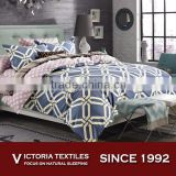 Brand New Yellow Honeycomb Printed Quilt Duvet Cover Navy Bedding Bed Set With Brown Diamond Sheets Set