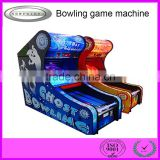 China supplier coin operated game machine kiddie playing Bowling gift game machine