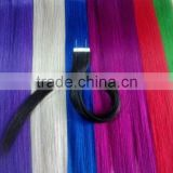 Crazy Color & Any Length tape Tip Hair Extensions, Wholesale remy Virgin Hair/Human Hair Extensions