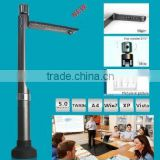 New!~1080P, 5.0 Mega pixel portable document scanner, overhead projector, document camera