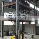 Home use hydraulic four column lifting table for car parking with CE