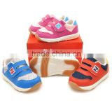 2016 cheap wholesale high quality cute warm 0-2 YEAR soft TPR sole leather baby sport shoes