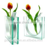 Wholesale vase with low price for custom acrylic flower arranging decorative vase