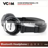 Bluetooth Wireless 40mm Headphone Speaker with sd card and mic