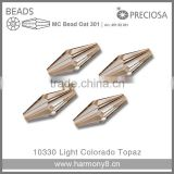 PRECIOSA Crystal Beads,MC Bead Oat 301 for Wedding Dresses