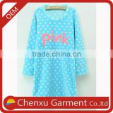 sexy nighty image customized logo printed fleece sex womens nightgown sexy nighty dress women sleep wear cotton nighty india