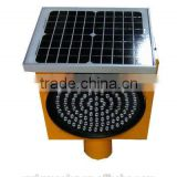 solar led road safety flashing light / solar super bright led furious traffic signal sign /remarkable