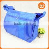 Single strap shoulder bag Twill Oxford fabric bag Outdoor travel bag
