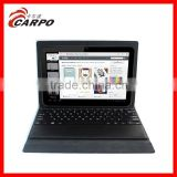 shenzhen factory universal leather computer keyboard for window tablet with foldable support