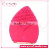 EYCO BEAUTY New Products Hot Facial Cleansing Pad Face Washing Blackhead Remover Silicone Gel Pad Brush With Sucker