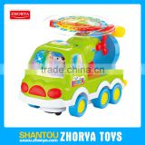 Plastic BO toys battery operated model mini cars for kids