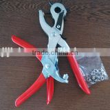 2pc punch plier set/hand punch pliers/hole punch tool set