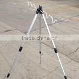 Aluminum Triangular and Folding Rod Holder