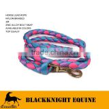 NYLON HORSE LEAD ROPE 2M EQUESTRIAN WHOLESALE HORSE LEAD ROPE EQUESTRIAN HORSE LEAD ROPE WHOLESALE HORSE EQUIPMENT HORSE LEAD