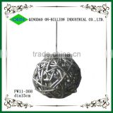 Beautiful handmade decorative wicker ball