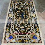 Marble Stone Inlay Dining Table Top, Marble Inlay Table Tops