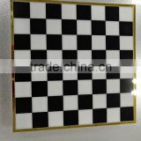 JYCB-001Factory wholesale custom acrylic giant chess board/plexiglass chess board
