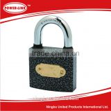 Plastic Painted Iron Padlock With 3pcs Iron Keys