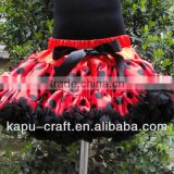 Christmas pettiskirt Baby Girls tutu petti skirt baby ruffled skirt wholesale polka dots tutu skirt
