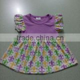wholesale boutique clothing china girls printed baby dresses european style dresses