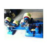 4kw Wireless Self-aligned Welding Rotator Blue for Oil Tank , 750mm to 4800mm Vessel Diameter